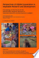 Perspectives of ASEAN Cooperation in Vegetable Research and Development
