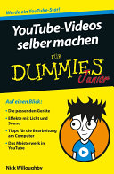 YouTube Videos selber machen f  r Dummies Junior