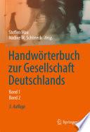 Handwörterbuch zur Gesellschaft Deutschlands