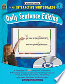Interactive Learning  Daily Sentence Editing  Grade 2