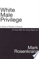 White Male Privilege Book PDF