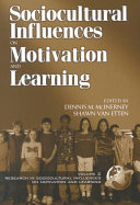 Research on Sociocultural Influences on Motivation and Learning