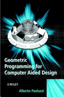 Geometric Programming for Computer Aided Design