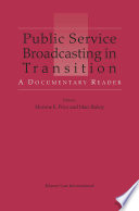 Public Service Broadcasting in Transition