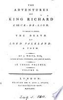 The adventures of king Richard Coeur-de-Lion