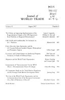 Journal of World Trade