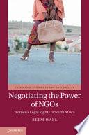 Negotiating The Power Of Ngos
