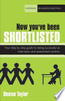Now You ve Been Shortlisted