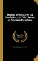 HULDAH A DAUGHTER OF THE REVOL