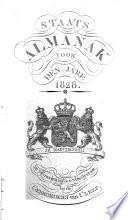 Staatsalmanak voor den jaren 1822, 1827, 1828 en 1830