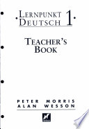 Lernpunkt Deutsch 1 - Teacher's Book with New German Spelling