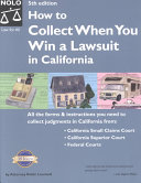 How to Collect When You Win a Lawsuit in California