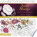 Jesus Always Adult Coloring Book  Creative Coloring and Hand Lettering
