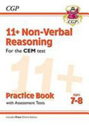 New 11+ CEM Non-Verbal Reasoning Practice Book & Assessment Tests - Ages 7-8 (with Online Edition)