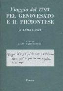 Viaggio del 1793 pel Genovesato e il Piemontese