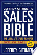The Sales Bible  New Edition