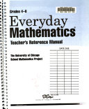 Everyday Mathematics  Teacher s reference manual  Grades 4 6