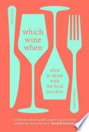 Book Which Wine When