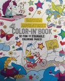 Unicorn Adventures Color In  Book