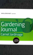 Moleskine Passion Journal   Gardening  Large  Hard Cover  5 x 8 25