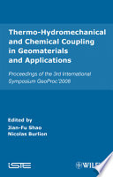 Thermo Hydromechanical And Chemical Coupling In Geomaterials And Applications book