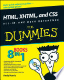 HTML  XHTML  and CSS All in One Desk Reference For Dummies