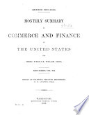 Summary of Foreign Commerce of the United States