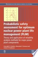 Probabilistic Safety Assessment for Optimum Nuclear Power Plant Life Management  PLiM