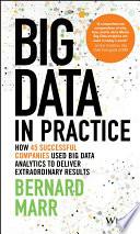 Ebook Big Data in Practice Epub Bernard Marr Apps Read Mobile