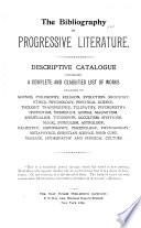 The Bibliography of Progressive Literature