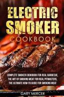 Electric Smoker Cookbook