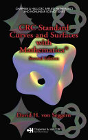 CRC Standard Curves and Surfaces with Mathematica  Second Edition
