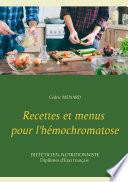 illustration Recettes et menus pour l'hémochromatose