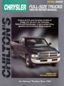 Chrysler Full Size Trucks 1989 96