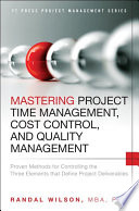Mastering Project Time Management  Cost Control  and Quality Management