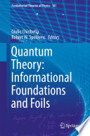 Quantum Theory  Informational Foundations and Foils