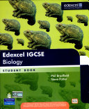 Edexcel IGCSE Biology Book Cover