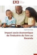 Impact socio-économique de l'industrie du livre au Rwanda