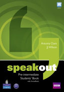 Speakout Pre Intermediate Students  Book for Pack