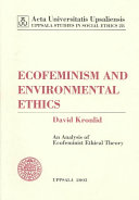 Ecofeminism and Environmental Ethics