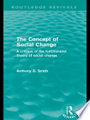 The Concept of Social Change  Routledge Revivals
