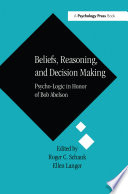 Beliefs Reasoning And Decision Making