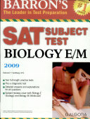 Biology E m 2007  Barrons Sat Subject Test