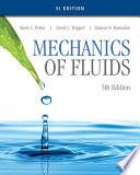 Mechanics of Fluids  SI Edition
