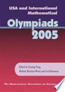 USA and International Mathematical Olympiads, 2005