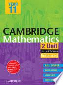 Cambridge 2 Unit Mathematics Year 11 Enhanced Version PDF Textbook