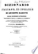 Dizionario Italiano  Ed Inglese  Italiano ed inglese