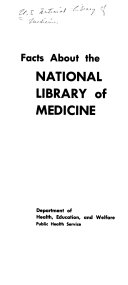 Facts about the National Library of Medicine