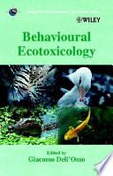 Behavioural Ecotoxicology