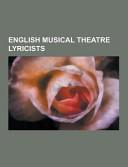 English Musical Theatre Lyricists